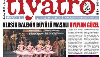 Tiyatro Gazetesi Aralık Ayı 105. Sayısı Çıktı
