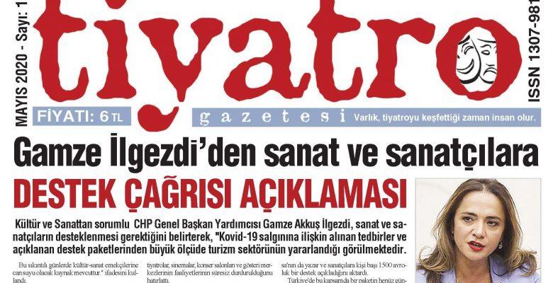 Tiyatro Gazetesi Mayıs 2020, 110. Sayı
