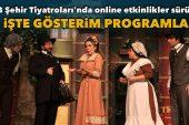 İBB Şehir Tiyatroları'nda online etkinlikler sürüyor