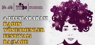 Kadın Yönetmenler Festivali başladı