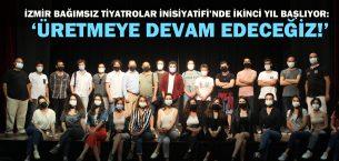 İzmir Bağımsız Tiyatrolar İnisiyatifi'nde ikinci yıl başlıyor!