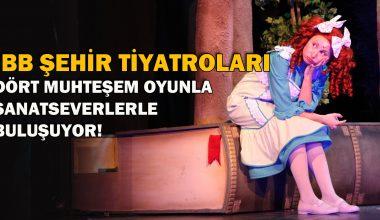 İBB Şehir Tiyatroları, dört muhteşem oyunla sanatseverler buluşuyor!