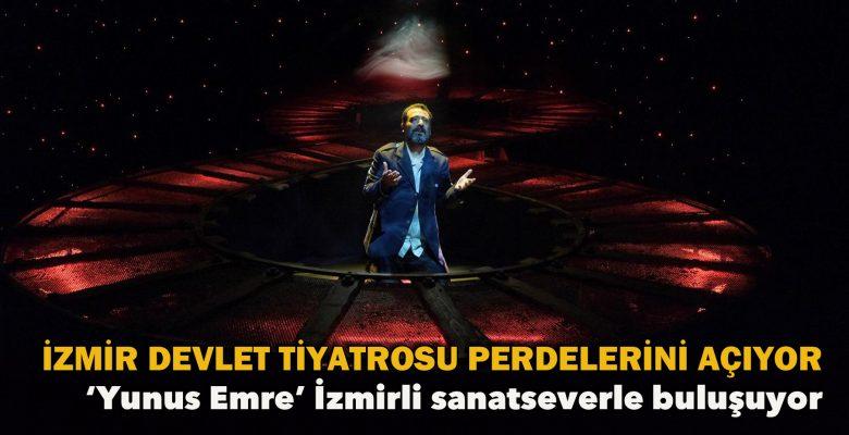 İzmir Devlet Tiyatrosu perdelerini açıyor!